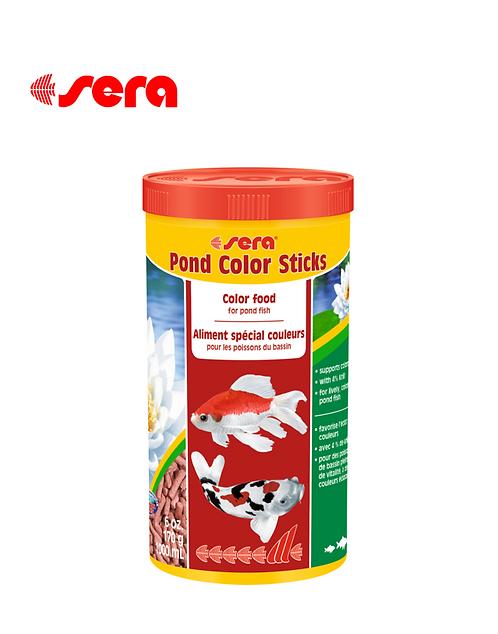 מזון מחזק צבע לדגי בריכות Pond Color Sticks 1L