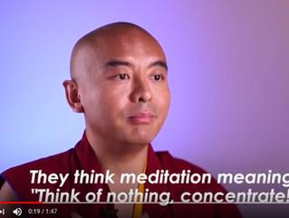 Wat is meditatie nu echt?