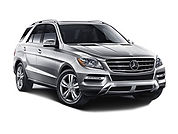 Hire a Mercedes ML in Milan Italy