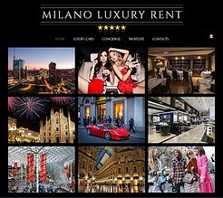 luxury car rental milano