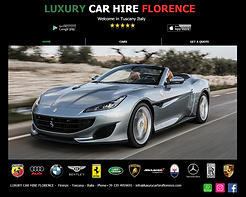 Luxury car Hire Florence