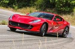 Rent Ferrari 812 Superfast Florence