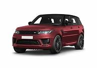rent range rover sport in italy
