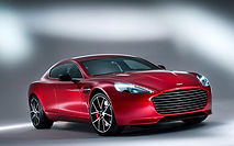 Rent Aston Martin Rapide in Milan