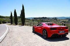 Ferrari tuscany tour
