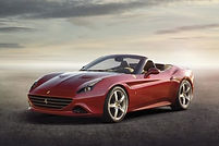 Rent Ferrari California in Milan