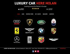 LUXURY CAR HIRE MILAN, ROME, FLORENCE, N
