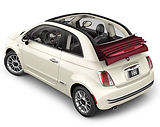 Rent Fiat 500 Cabriolet in Tenerife