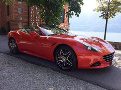 Ferrari Lake como tour