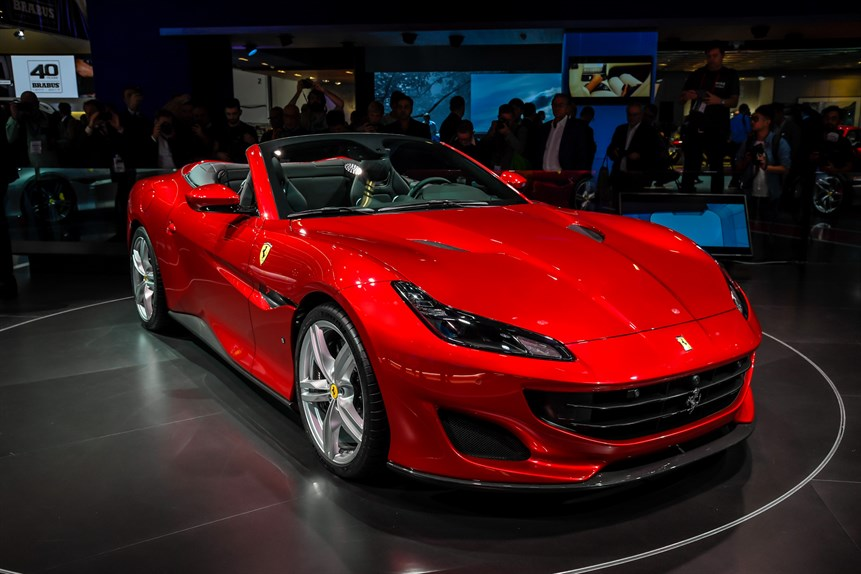 Rent Ferrari Portofino in Italy