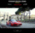 Ferrari Rental Roma