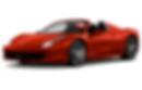 Noleggio Ferrari 458 Spider