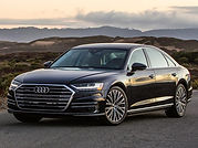 rent Audi A8 in Italy