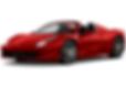 Rent Ferrari 458 spider in Porto Cervo, Sardinia