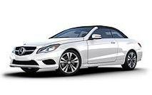 Hire Mercedes E class convertible Milan