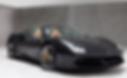 Ferrari 488 Spider rent ibiza
