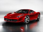 Rent Ferrari 458 Italia in Milan