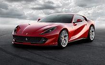 Rent Ferrari 812 superfast in italy