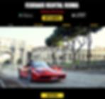 Ferrari rent roma