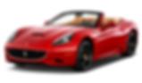 Rent Ferrari California in Roma