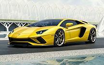 Rent Lamborghini Aventador in italy