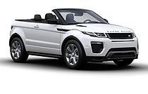 Rent a Range Rover Evoque cabriolet in Porto Cervo, Sardinia