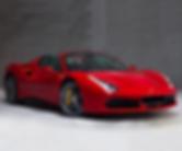 Rent Ferrari 488 spider in Monaco