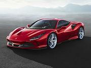 rent Ferrari F8 Tributo in italy
