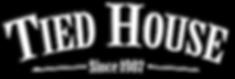 Tied House Simple Logo White DARKShadow.