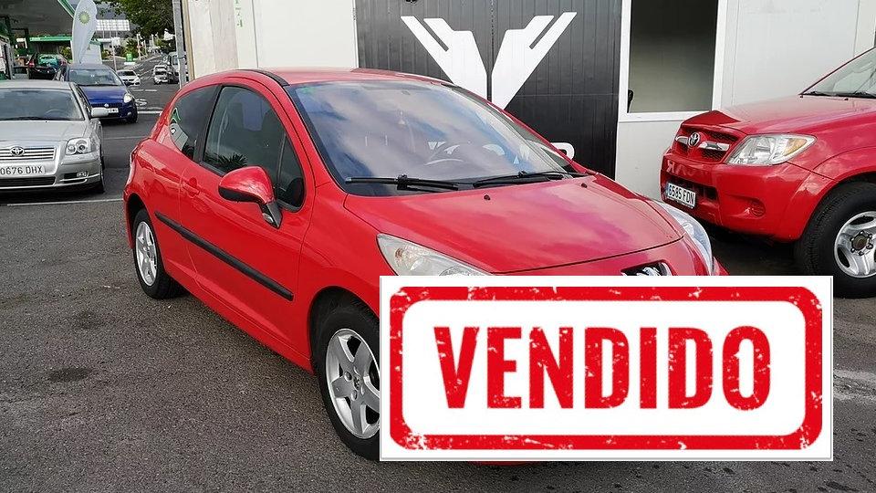 Peugeot 207 1.4 Gasolina 185000km Año 2007