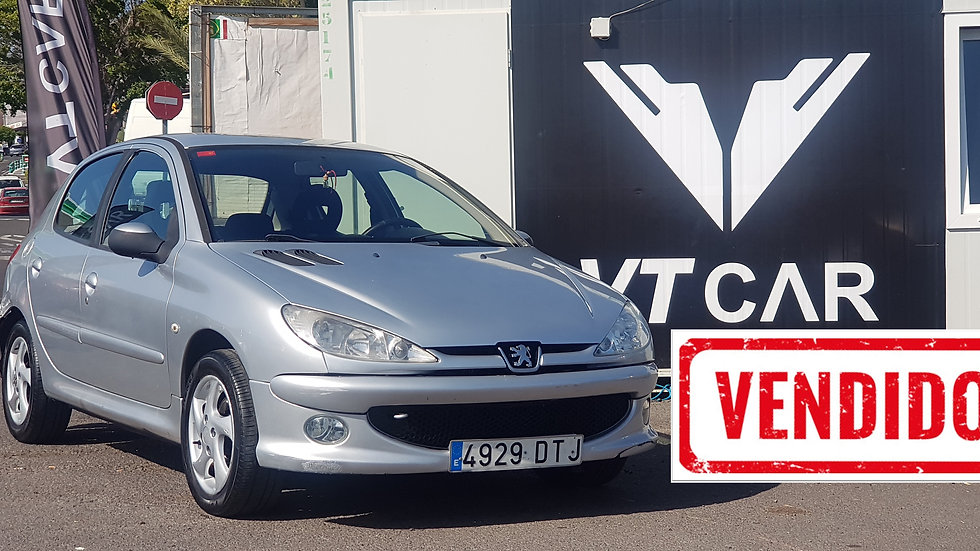 VENDIDO Peugeot 206 1.6 Gasolina 192000km Año 2005