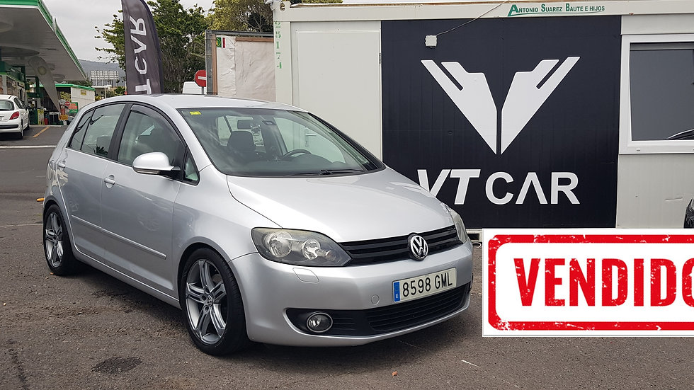 VENDIDO Volkswagen Golf Plus 2.0 diésel 115000km Año 2008