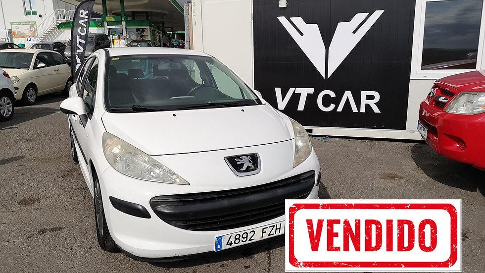 VENDIDO Peugeot 206 1.4 Gasolina 240000km Año 2008