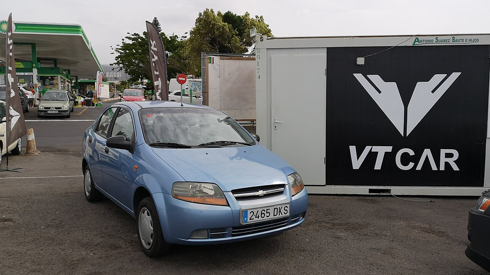 Chevrolet Aveo 1.6 Gasolina 225000km Año 2006