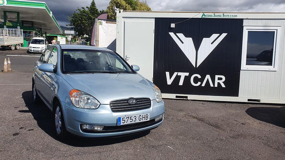 Hyundai Accent 1.6 Gasolina 90000km Año 2008