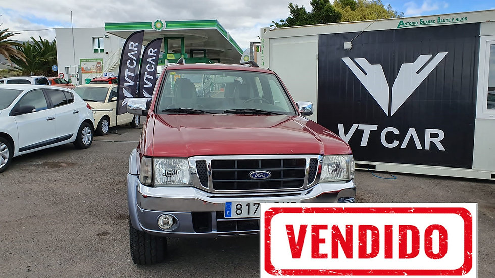 VENDIDO Ford Ranger 2.5 Diesel 152000km