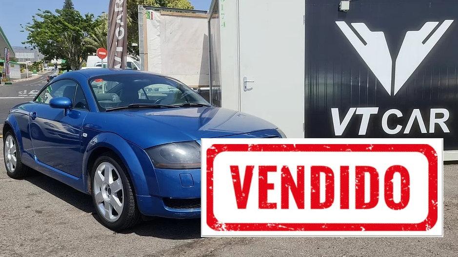 Audi TT 1.8 turbo Gasolina 196000km Año 2002