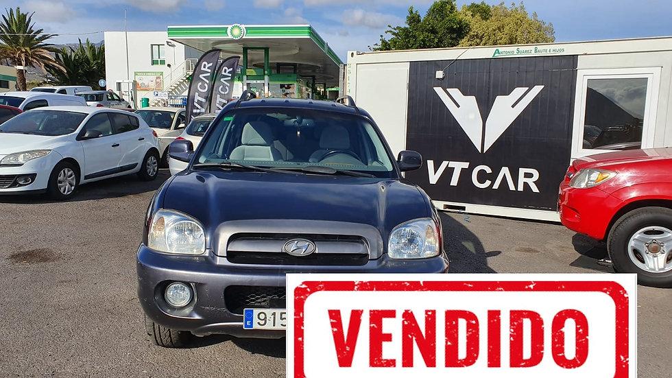 VENDIDO Hyundai SantaFe 2.0 Diesel 190000km Año 2006