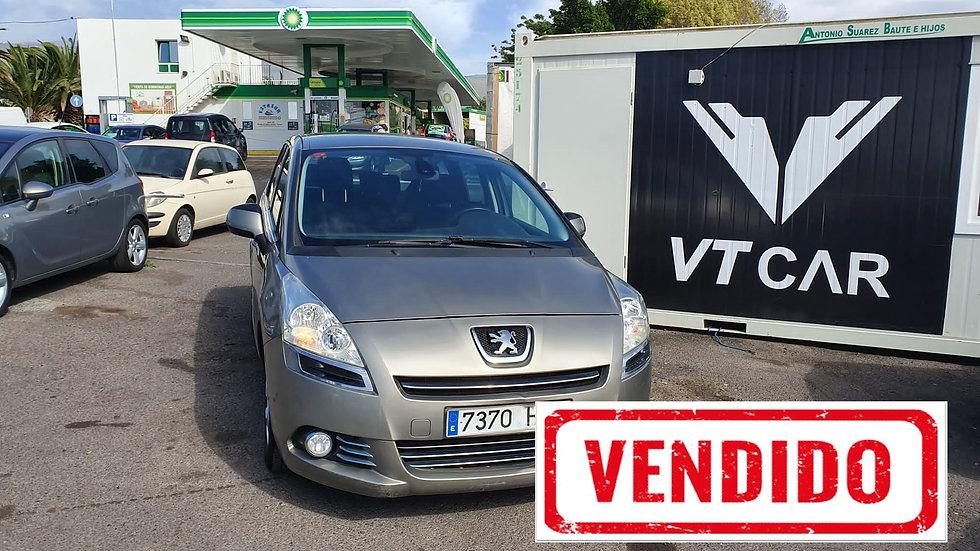 VENDIDO . Peugeot 5008 1.6 Diesel 166000km Año 2011