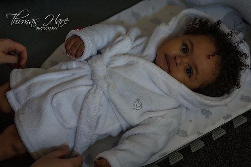 Kernow Baby Spa robe 6-12 months
