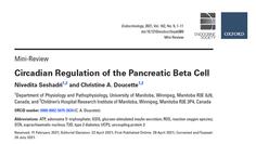 Circadian Regulation of the Pancreatic Beta Cell