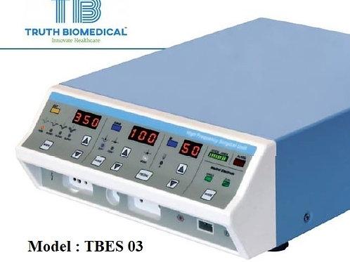 Electrosurgery unit