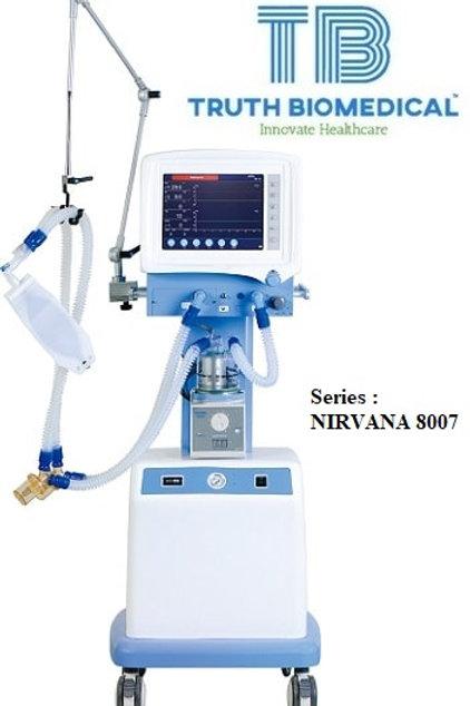 Medical Ventilator - Series Nirvana 8007