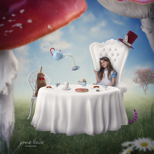 Wonderland Tea party time