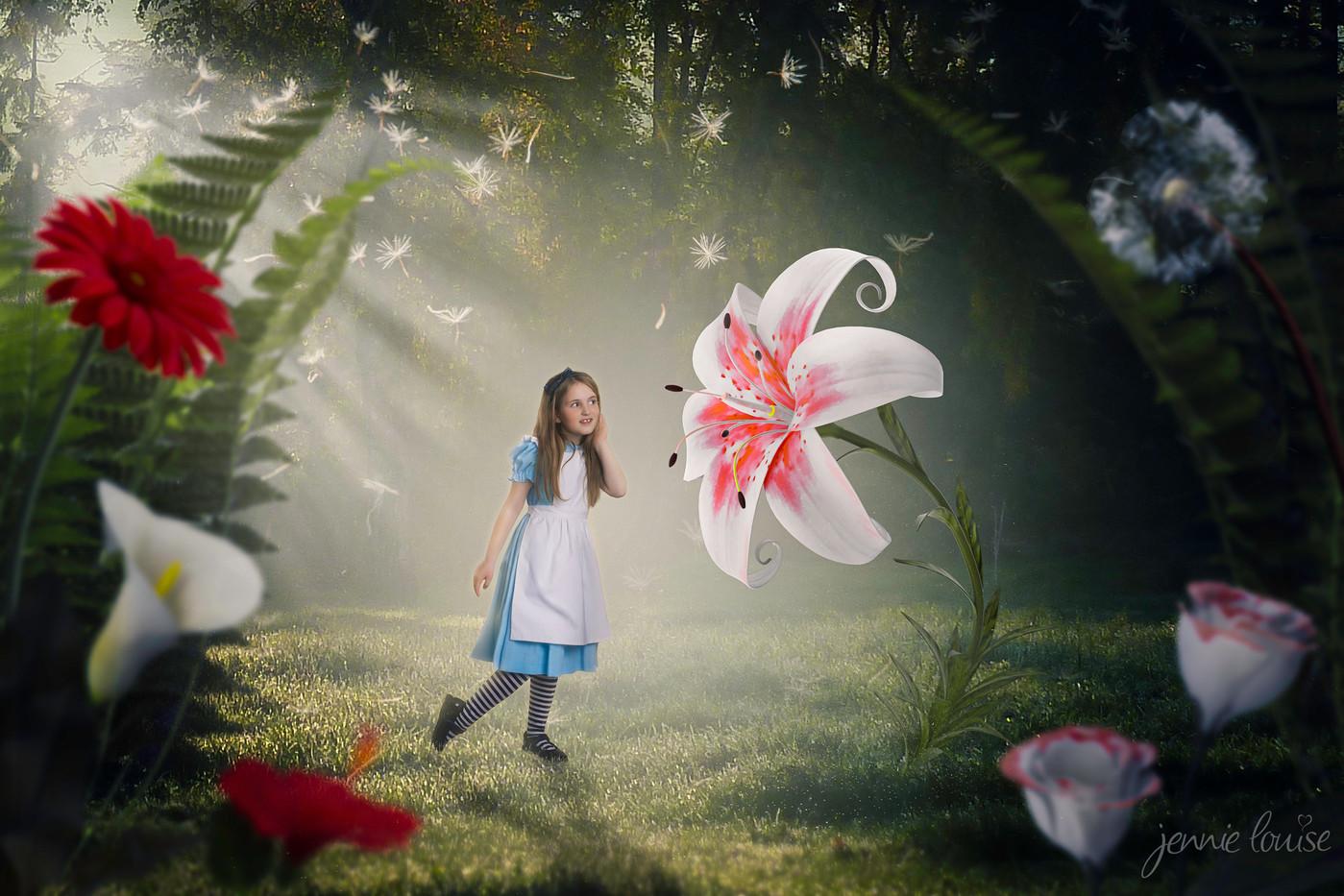 Flowers in Wonderland