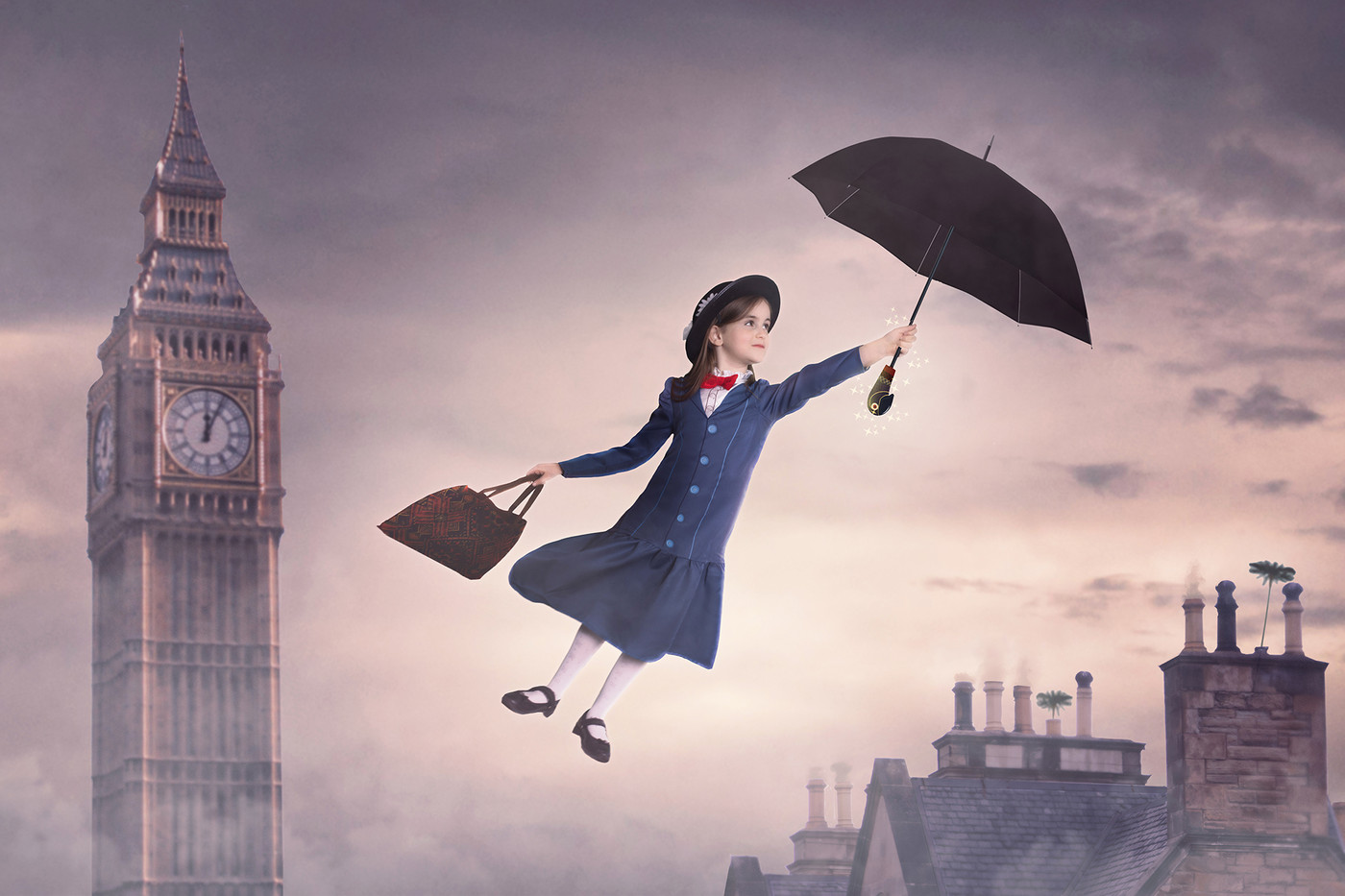 Poppins flying time