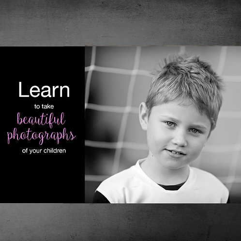 2hrs of 1:1 training - Learn how to take beautiful photographs