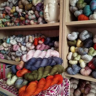 Stocking up for #woolfest . . 👏❤️_._._.