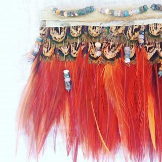 Sneek peak of my feather obsession 😍 In