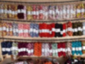 Check out my yarn wall! I'm bringing thi